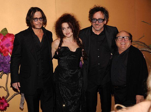Danny DeVito and Tim Burton Photo - The Museum Of Modern Art Film Benefit: A Tribute To Tim Burton