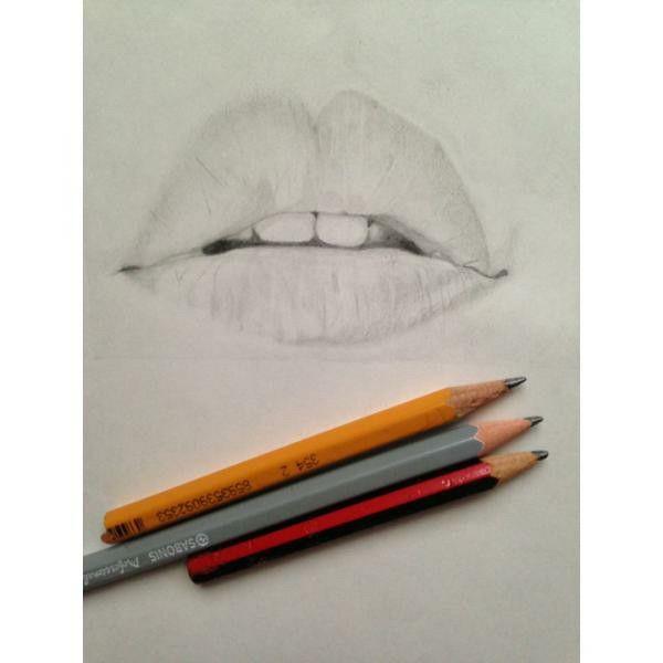 Y..si...boca. #mouth#drawing#pencil#lapiz#dibujo#boca