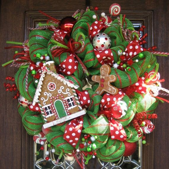 Kerstkrans voor kinderen