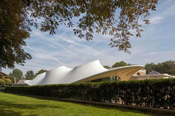 Sistemas de Fachadas   Galería Sackler Serpentine recientemente inaugurada en Londres   http://sistemasdefachadas.com