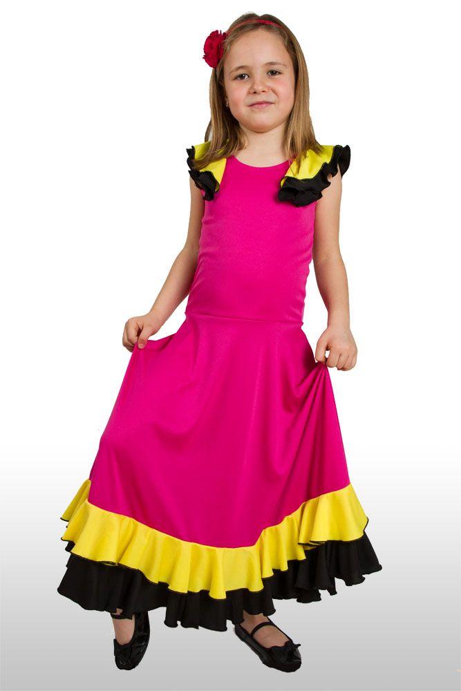 Handmade Flamenco dress for kids!