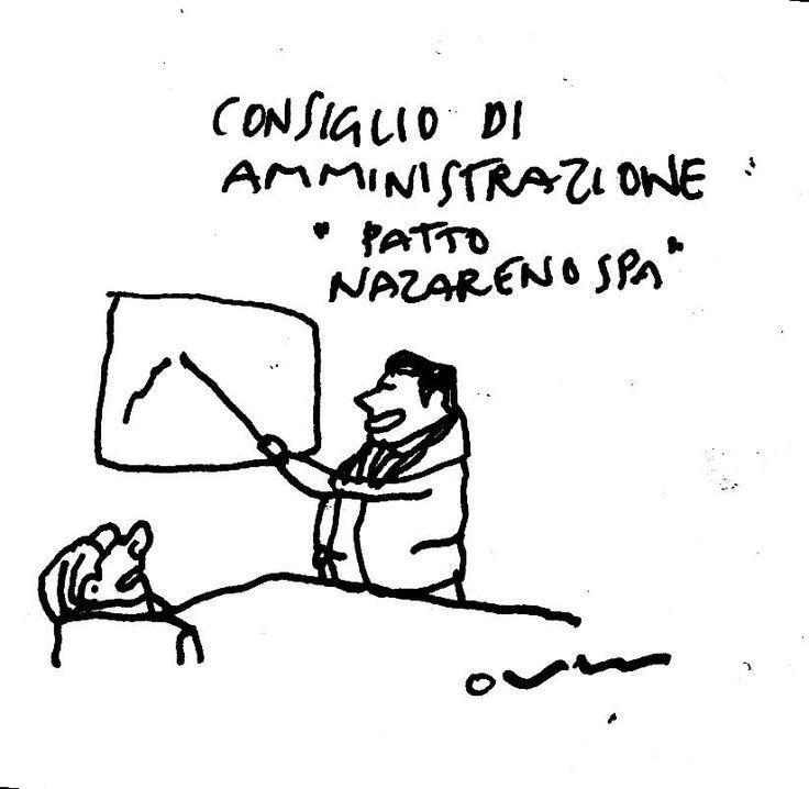 riunione spa @matteorenzi @SBerlusconi2014 pic.twitter.com/AKm60ZLCXP