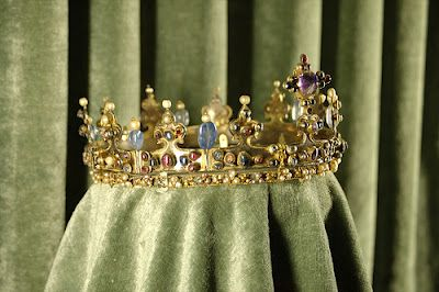 Medieval Crown of a Royal Lady