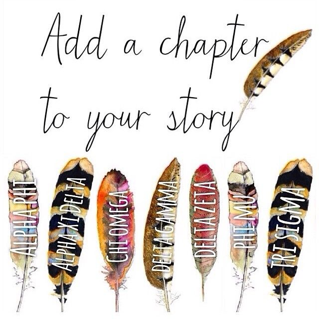 add a sorority story to your life! ❥
