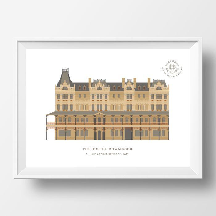 the-hotel-shamrock-print