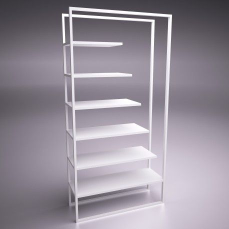ultramodern bookshelf. design