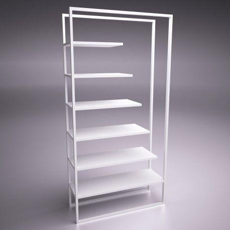 ultramodern bookshelf. design
