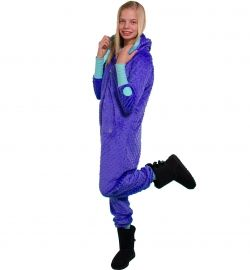 The one and only Minky onesie ~ minky pixie and ice green