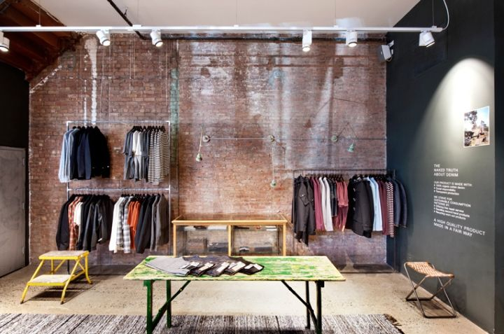 Little over four years after setting up shop on the U.S. west coast, Nudie Jeans has finally entered New York City's retail scene with flagship store in the Nolita neighbourhood.