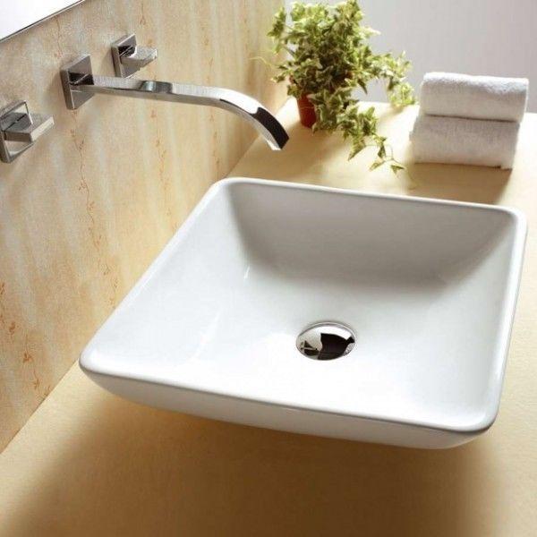 420mm Square Ceramic Basin In Home Garden Building Materials Diy Plumbing