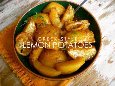 Greek Lemon Potatoes | Attempts at Cooking | Pinterest