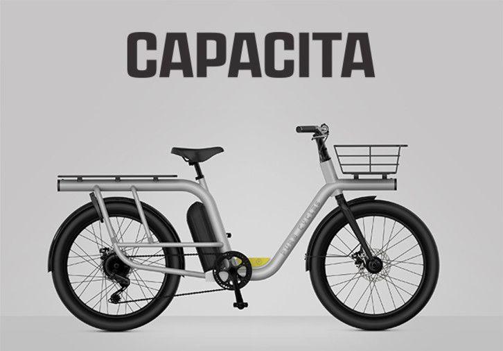 Capacita The Most Affordable Smart Cargo E Bike Indiegogo Cargo Bike Ebike Bike