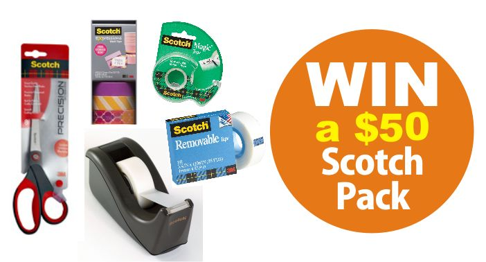 We are giving one lucky family the chance to score aScotch® Expressions Tape Back To School Pack worth $50 woohoo. For your chance to win just enter below ...  Win a Scotch® Expressions Tape Back To …