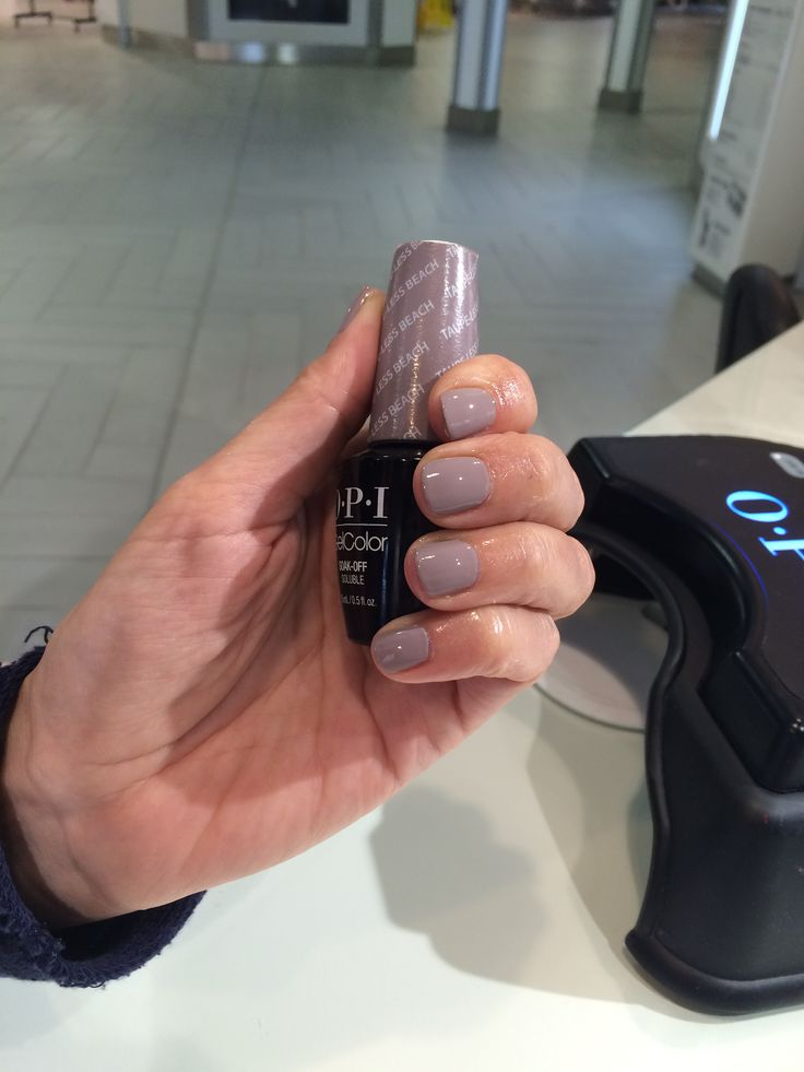 OPI GelColor Taupe-Less beach for a happy customer in East Midlands airport #opi #gelcolor #opigelcolor #eastmidlands #airport #holiday #flying #nails #beauty