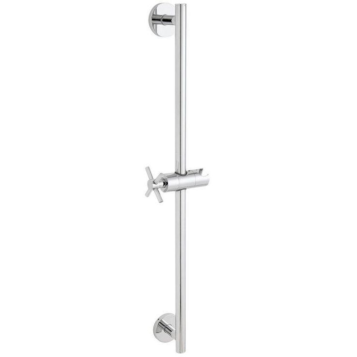 Speakman SA-1002 Neo 25-3/4 Inch Traditional Shower Slide Bar Polished Chrome Shower Accessories Slide Bars