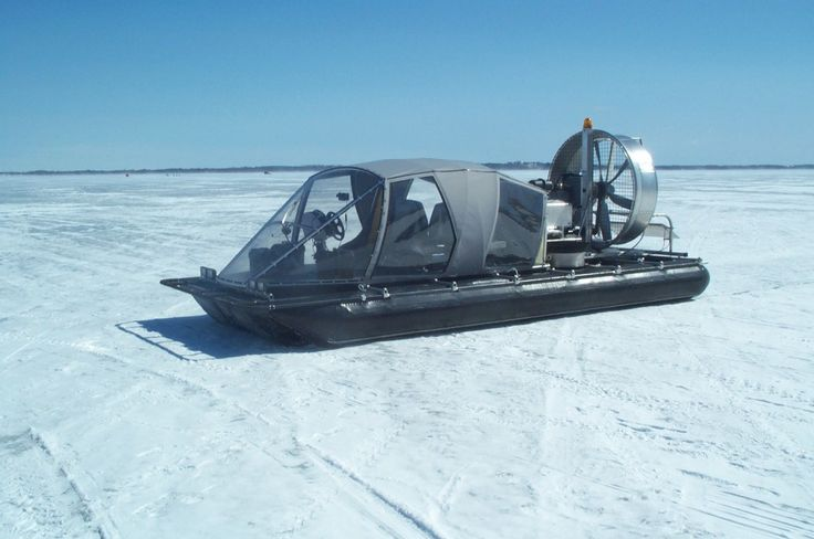 Ice lake operations in complete safety, unaffected by thin or broken ice.
