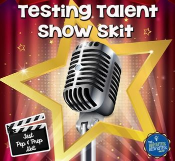 This testing encouragement skit is inspired by such television reality shows as American Idol, The Voice, America's Got Talent, and So You Think You Can Dance. Join host Noah Lott and judges Dee Vaugh, Corey O. Graph, and Hugh Morris (see what I did there) as they welcome singing, dancing, and comedian contestants.