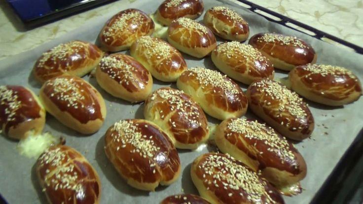Турецкие булочки с сыром.Простой и вкусный рецепт.