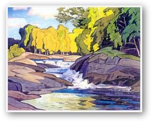 ^ A.J. Casson Rapids On The Magnetawan