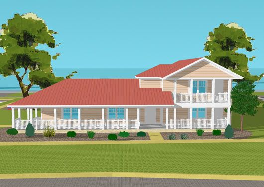 Yep, love this one too Ranch Style House Addition Plans | TWO STORY HOME ADDITIONS PLANS | House Design
