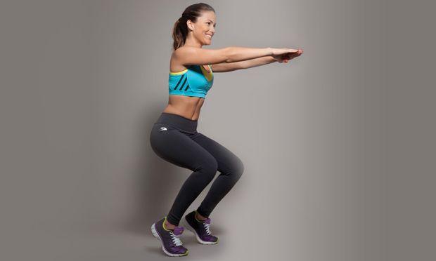 Trabalhe panturrilhas, barriga, coxas e glúteos com um único exercício