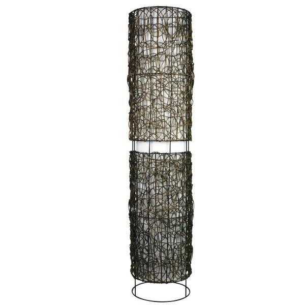 Mauii Wicker Floor Lamp – Luminous Lamps