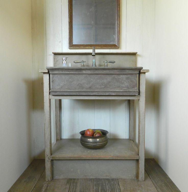 Drop In Farm Sink Bathroom Vanity