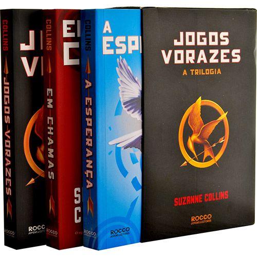 Livro - Box Trilogia Jogos Vorazes - Suzanne Collins