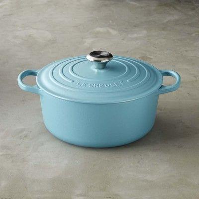 Le Creuset Signature Cast-Iron Round Dutch Oven #williamssonoma