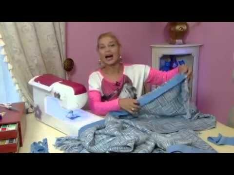 Ольга Никишичева Пончо для осени - YouTube