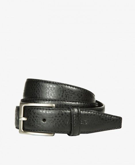 Leather and plastic belt, printed, made in Italy, with square metal buckle and Navigare logo | Navigare
