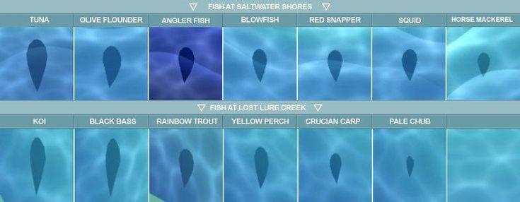 10++ Animal crossing fish shadow sizes ideas