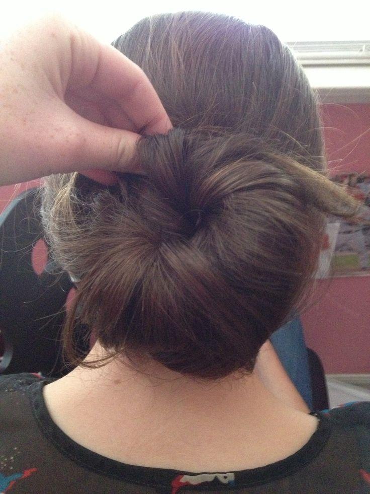 Got the divergent bun down thanks Sydney!!