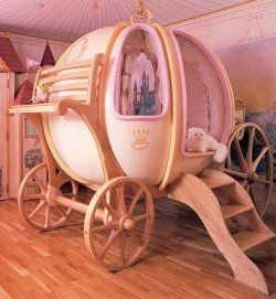 Holy Smokes!  This is a little girls bed!