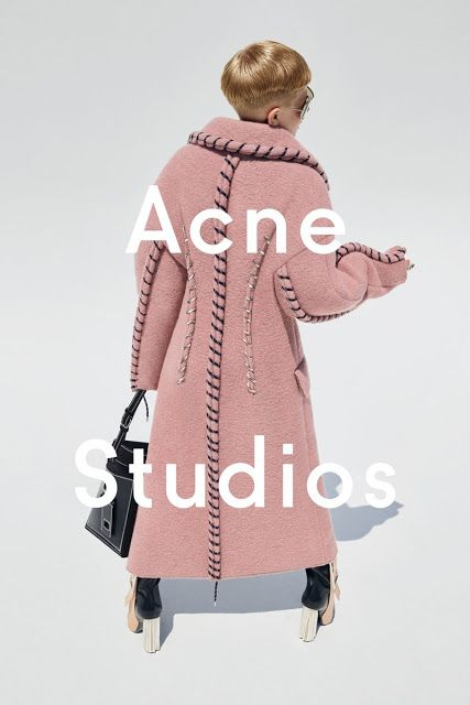 Acne Studios Ad Campaign Fall/Winter 2015/2016 Photo by Viviane Sassen
