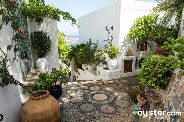 Garden at the Melenos Lindos Hotel