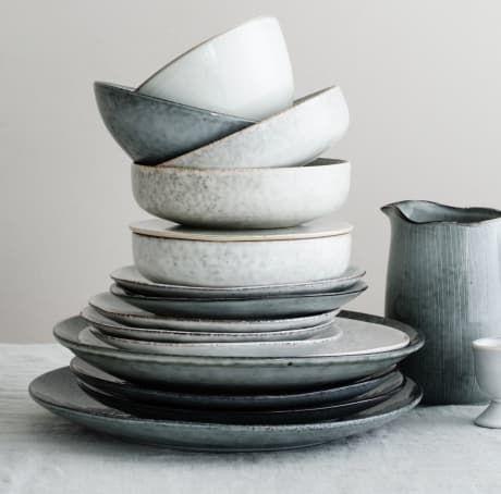 Trouva: Broste Copenhagen Handmade Scandinavian Nordic Sand Glazed Dinner Plate