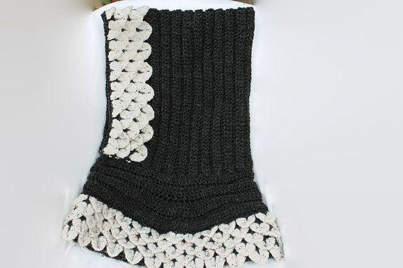 Large Crocodile Stitch Hood Elf Hood Made to Order by MadeforYOUbyFi $105 - Acrylic, $125 - 50/50, $135 - Pure Wool