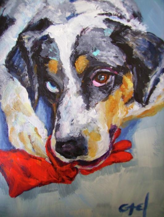 16 best images about dog art on pinterest chihuahuas for Dog painting artist