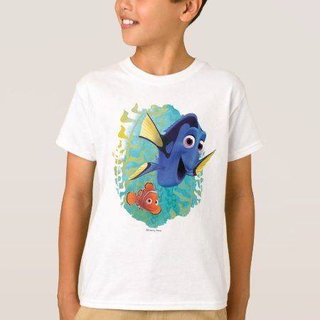 Dory & Nemo | Swim With Friends T-Shirt - click/tap to personalize and buy