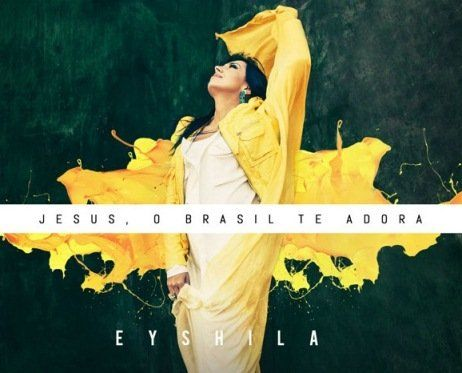 CD JESUS, O BRASIL TE ADORA - EYSHILA Jesus, o Brasil te adora, primeiro CD de Eyshila pela Central Gospel Music, profetiza e expressa o desejo da cantora de ver o Brasil se transformar em uma nação de adoradores. Em seu 12º álbum, Eyshila prima pela inovação. Pela primeira vez em 20 anos de carreira, ela investe em uma proposta temática, voltada para a diversidade de estilos com músicas de adoração.