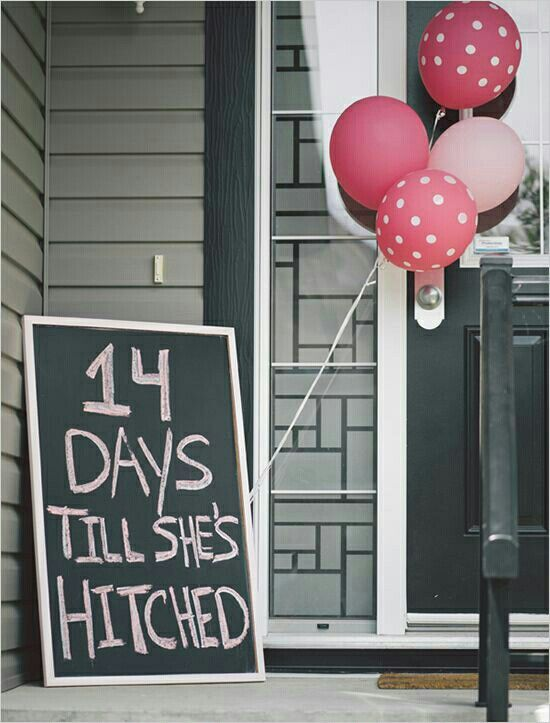 Love this idea! This sign can be right outside the door of the bridal shower location :)