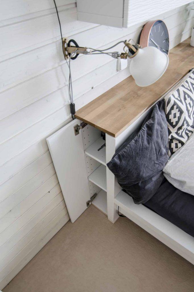 Ikea Malm Headboard Hack Jax Designs Bett Kinderzimmer Malm Bett Einrichtungsideen