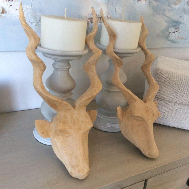 #kudu #head #horns #handcrafts #origional #artwork #decor