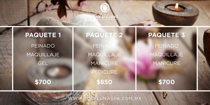 Conoce nuestros paquetes de graduación. #maquillaje #peinado #cuernavaca #manicure #pedicure #graduacion  #mexico #paquete