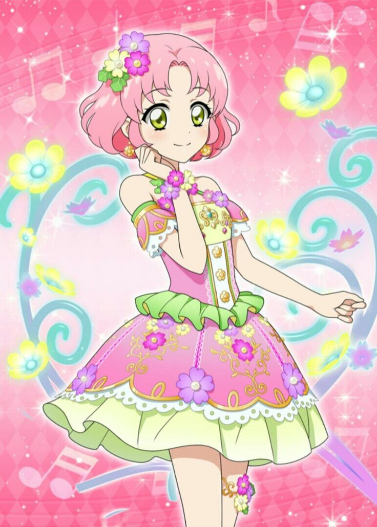 Real Manga Girls Cartoon Wallpaper 1391 Best Aikatsu Images On Pinterest Staging Faces And