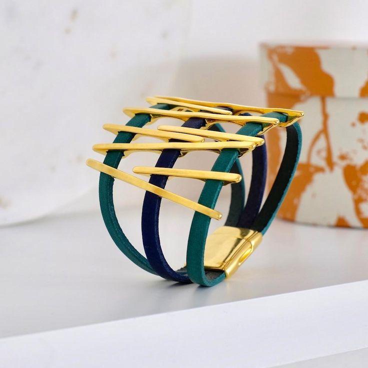 Bracelet Lignes graphiques | Perles Corner