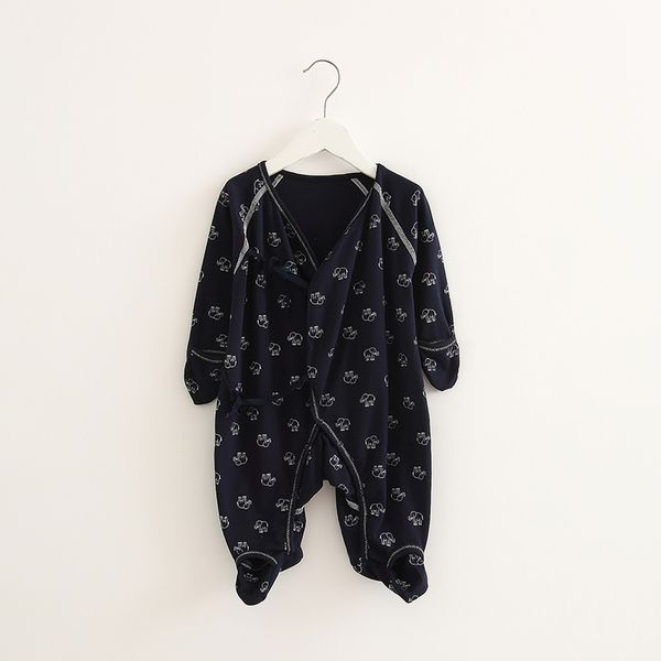 Ползунки, комбинезоны из Китая :: Детская пижама младенческой цельный платье девушки летние платья baby мальчики первокурсников 0-1 лет 3 месяца 2 длинный рукав тонкий лето 6.