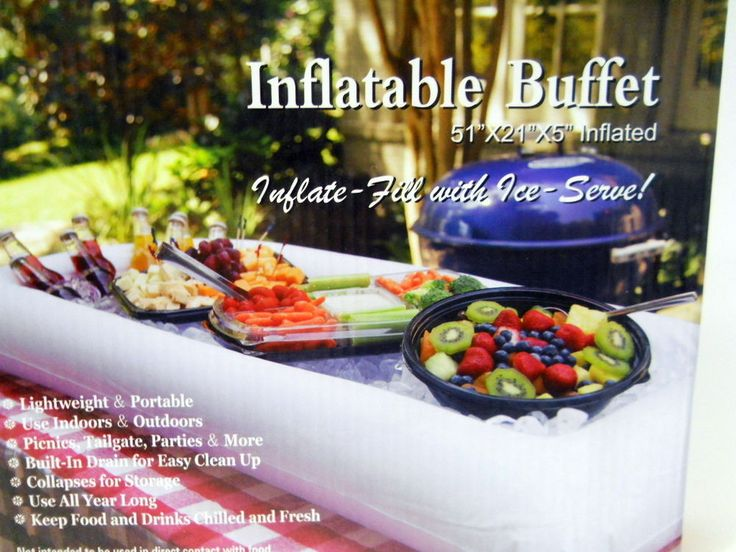26 Best Inflatable Buffet Quot Put Cold Food In Quot Images On