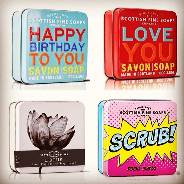 Lovely soaps by Scottish Fine Soaps